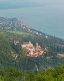 Simon the Zealot monastery at New Athos, Abkhazia Stock Photography