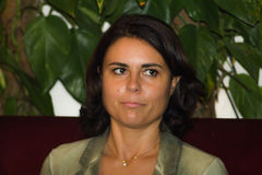18/10/2014 simona bonafe portretów Obraz Stock