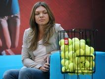 Simona Halep imagen de archivo libre de regalías