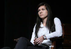 Simona Halep fotos de archivo
