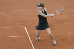 Simona Halep in action Stock Image