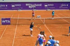 Simona Halep BRD OFFENES WTA Stockfoto