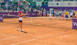 Simona Halep BRD OFFENES WTA Stockbild