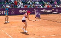 Simona Halep BRD OFFENES WTA Lizenzfreie Stockfotos