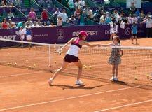 Simona Halep BRD OFFENES WTA Lizenzfreie Stockbilder
