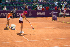 Simona Halep BRD OPEN WTA Royalty Free Stock Photos