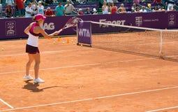 Simona Halep RFA WTA OUVERT Photos stock