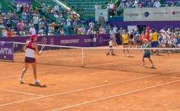 Simona Halep RFA WTA OUVERT Photo libre de droits