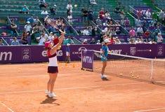 Simona Halep RFA WTA OUVERT Photographie stock libre de droits