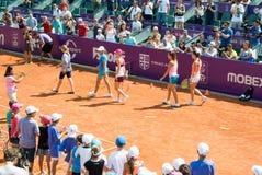 Simona Halep RFA WTA OUVERT Images stock