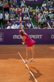 Simona Halep. On WTA BRD Bucharest Open Royalty Free Stock Image