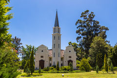 Simond kyrka, Franschhoek Royaltyfria Bilder
