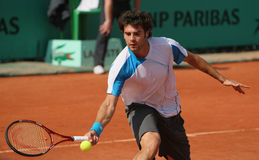 Simone BOLELLI (ITA) at Roland Garros 2010 Royalty Free Stock Image