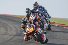 Simone Corsi. Moto2. Grand Prix Movistar of Aragón Royalty Free Stock Photos