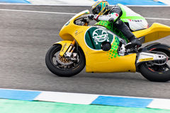 Simone Corsi pilot of Moto2  of the MotoGP Royalty Free Stock Photo
