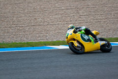 Simone Corsi pilot of Moto2  of the MotoGP Stock Photos