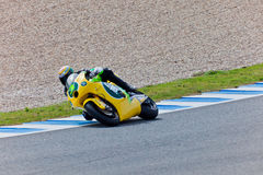 Simone Corsi pilot of Moto2  of the MotoGP Stock Photo