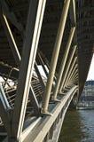 Simone DE Beauvoir voetgangersbrug Stock Fotografie