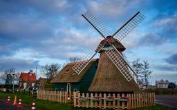 Simonehoeve, Windmolenmodel, Nederland stock foto's