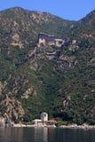 Simonopetra kloster, Mount Athos, Grekland Fotografering för Bildbyråer