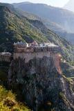 Simonopetra Monastery Stock Photo