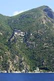 Simonopetra Monastery. Holy Athos. Stock Photography