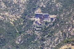 Simonopetra Monastery. Mount Athos. Royalty Free Stock Photography