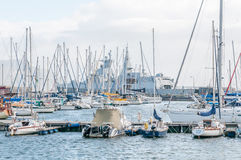 Simons Town harbor Stock Image