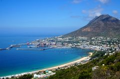 Simons Town. View of Simons Town South Africa Royalty Free Stock Photography