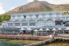 Simons Town waterfront Royalty Free Stock Images