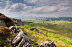 Simonside Hill crags Royalty Free Stock Images
