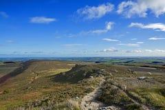 Simonside Hills near Rothbury Stock Images