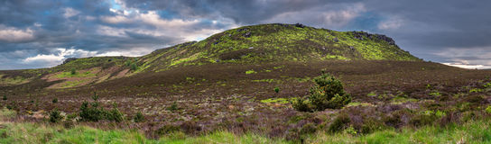 Simonside and Old Stell Crag Panorama Stock Photography