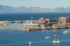 Simonstown Harbor South Africa Royalty Free Stock Images