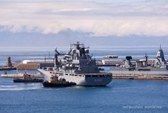 Simonstown Naval base Royalty Free Stock Photo