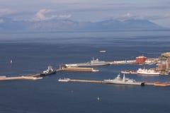 Simonstown Naval harbour Stock Photography