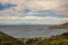 Free Simonstown On The Shores Of False Bay In South Africa Royalty Free Stock Photos - 124473058