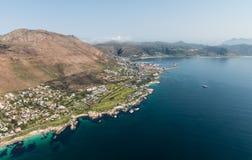 Simonstown Południowa Afryka widok z lotu ptaka Fotografia Royalty Free