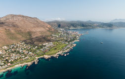 Simonstown South Africa aerial view Royalty Free Stock Photography