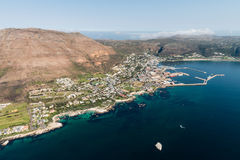 Simonstown & x28;South Africa& x29; aerial view Stock Photos
