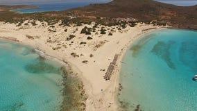Simos海滩 免版税库存照片