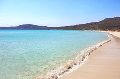 Simos beach Elafonisos Greece Stock Images