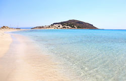 Simos beach Elafonisos Greece Royalty Free Stock Photos