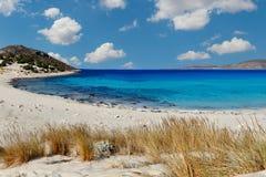 Simos beach in Elafonissos island, Greece royalty free stock photos