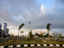 Simpang Lima. One of view of Makassar royalty free stock photo