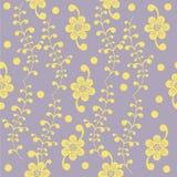 Simpl floral pattern. Wallpaper, element for design, background, pattern Stock Images