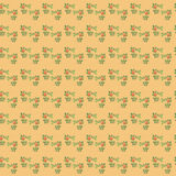 Simpl floral pattern. Wallpaper, element for design, background, pattern Stock Photos