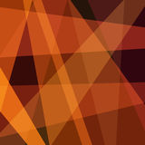 Simple abstract background brown triangles Stock Images