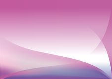 Simple Abstract Background. Simple and soft purple absract background Royalty Free Illustration