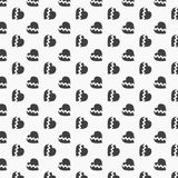 Simple abstract broken heart vector background. clean design for wallpaper, fabric, paint. Pattern is on swathes panel stock illustration